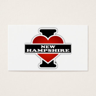 I Heart New Hampshire Business Card