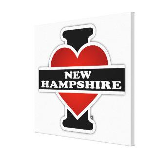 I Heart New Hampshire Canvas Print