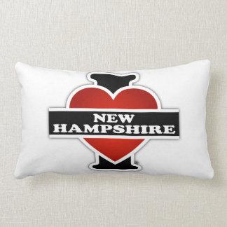 I Heart New Hampshire Lumbar Pillow