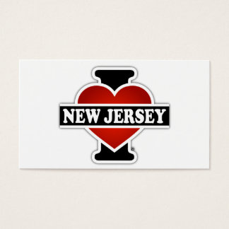 I Heart New Jersey Business Card