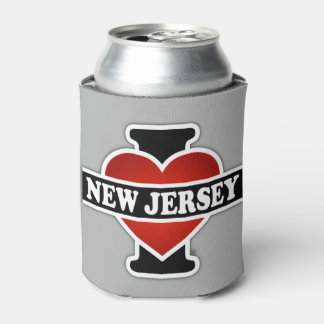 I Heart New Jersey Can Cooler
