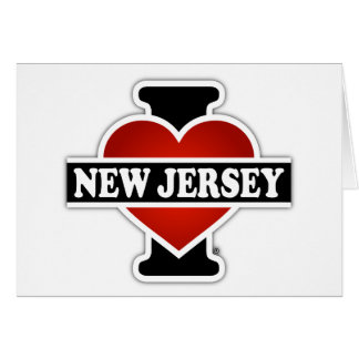 I Heart New Jersey Card