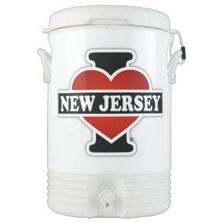 I Heart New Jersey Cooler