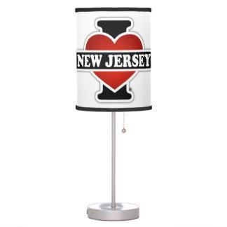 I Heart New Jersey Desk Lamp