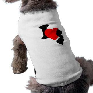 I Heart New Jersey Doggie T Shirt
