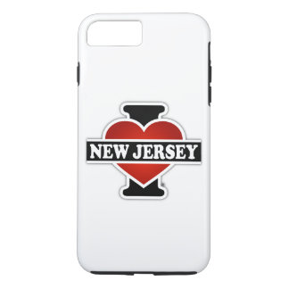 I Heart New Jersey iPhone 8 Plus/7 Plus Case