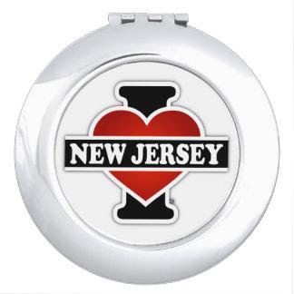 I Heart New Jersey Makeup Mirror