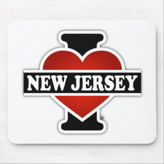 I Heart New Jersey Mouse Pad