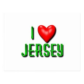 I Heart New Jersey Postcard