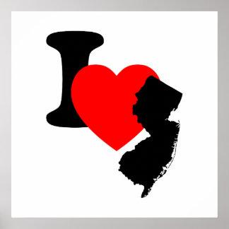 I Heart New Jersey Print