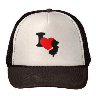 I Heart New Jersey Trucker Hat