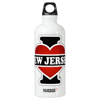 I Heart New Jersey Water Bottle