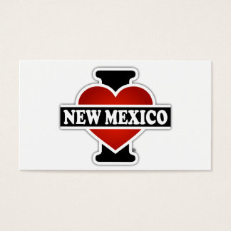 I Heart New Mexico Business Card