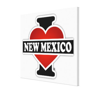 I Heart New Mexico Canvas Print