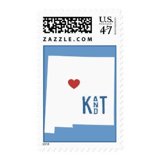 I Heart New Mexico - Customizable City Stamp