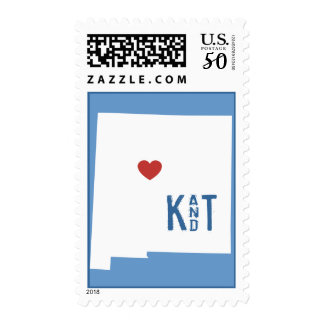 I Heart New Mexico - Customizable City Stamp