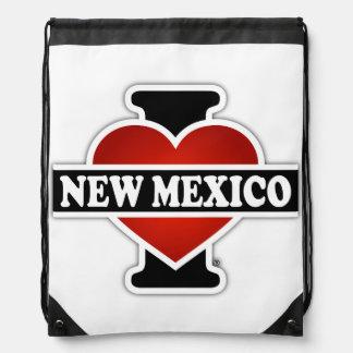I Heart New Mexico Drawstring Bag