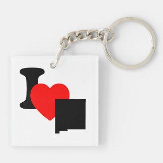 I Heart New Mexico Keychain