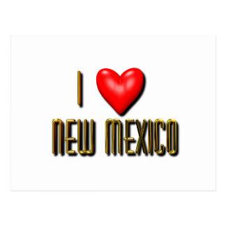 I Heart New Mexico Postcard