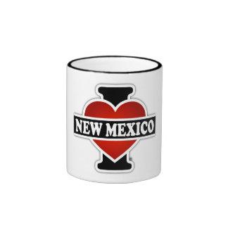 I Heart New Mexico Ringer Mug
