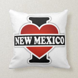 I Heart New Mexico Throw Pillow