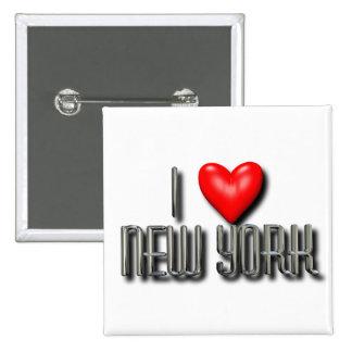 I Heart New York Button