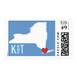 I Heart New York - Customizable City Stamp