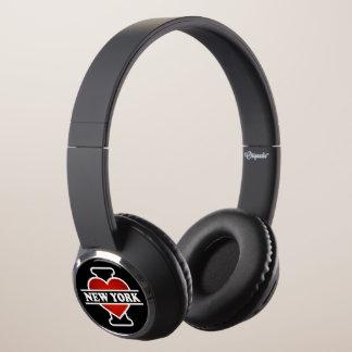 I Heart New York Headphones