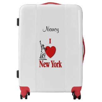 I Heart New York Luggage