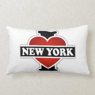 I Heart New York Lumbar Pillow
