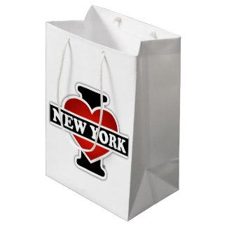 I Heart New York Medium Gift Bag