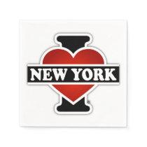I Heart New York Paper Napkin