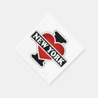 I Heart New York Paper Napkin