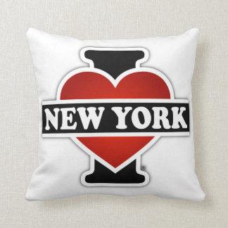 I Heart New York Throw Pillow