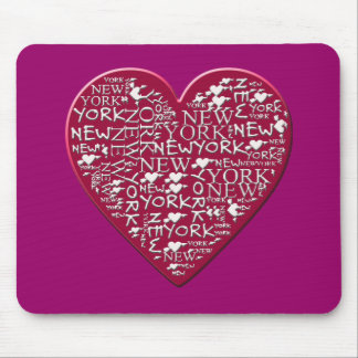 I Heart New York to Help Hurricane Sandy Relief Mouse Pad