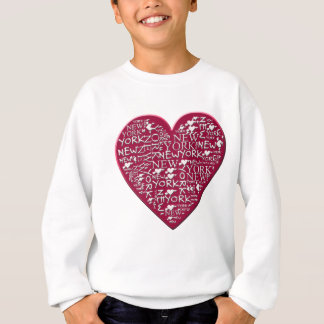 I Heart New York to Help Hurricane Sandy Relief Sweatshirt