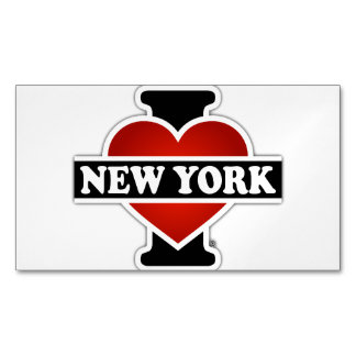 I Heart New York Magnetic Business Cards (Pack Of 25)