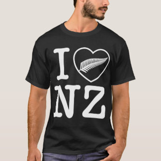 I heart new Zealand T-Shirt