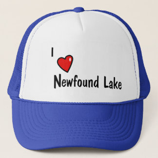 I Heart Newfound Lake Trucker Hat