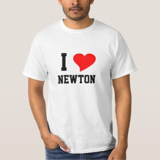 I Heart Newton T-Shirt