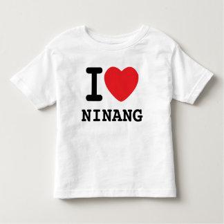 i heart ninang toddler t-shirt