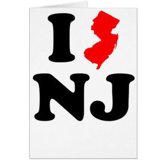 I Heart NJ Card