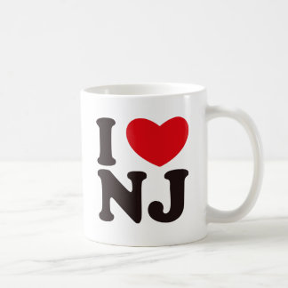 I HEART NJ COFFEE MUG