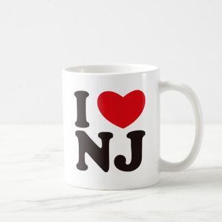 I HEART NJ COFFEE MUGS