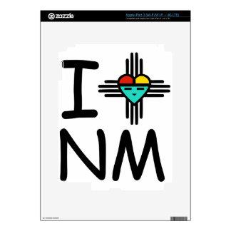 I Heart NM iPad 3 Decal