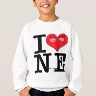 I (heart) No onE Sweatshirt