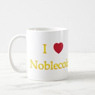 I Heart Noblecoin Coffee Mug
