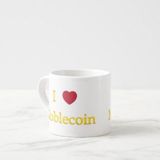 I Heart Noblecoin Espresso Cup