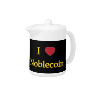 I Heart Noblecoin (on Black)