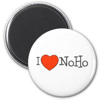I Heart NoHo 2 Inch Round Magnet